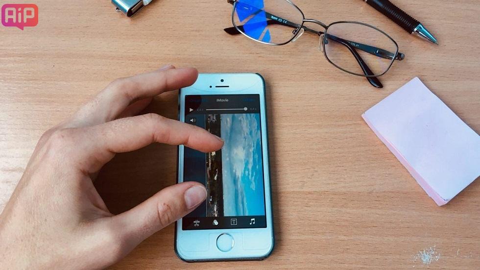 Как изменить ориентацию видео на Айфоне
